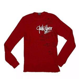 Quicksilver Men's Waffle Thermal Long Sleeve Shirt